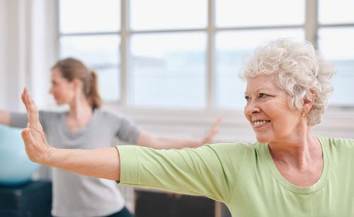 Gentle exercises for seniors 1